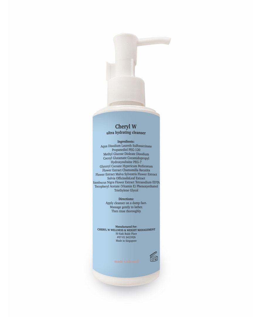 Ultra Hydrating Cleanser (180ml) back