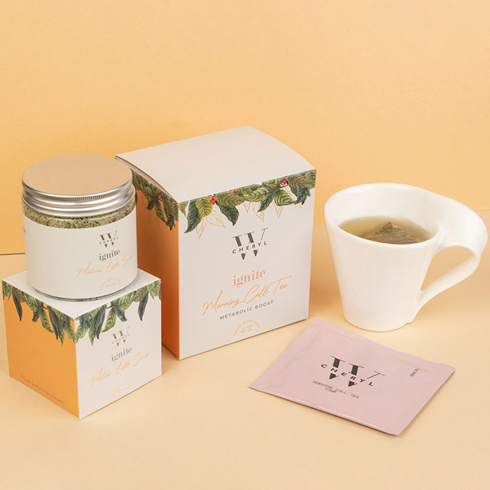 Ignite Matcha Latte Body Scrub & Morning Call Tea